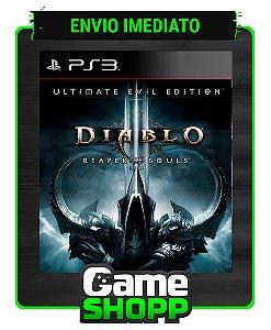 Diablo Iii: Reaper Of Souls - Ultimate Evil Edition- Ps3 - Midia Digital
