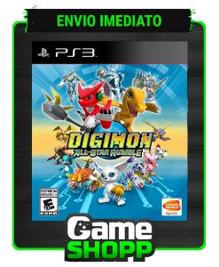 Digimon All-star Rumble - Ps3 - Midia Digital