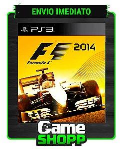 F1 2014 - Ps3 - Midia Digital