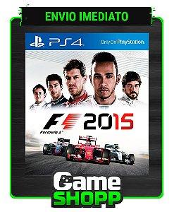 F1 2015  - Ps4 - Edição Padrão - Primária