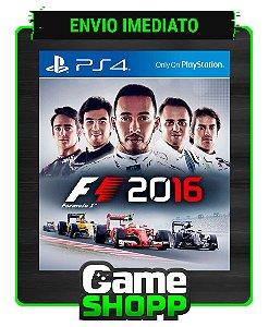 F1 2016  - Ps4 - Edição Padrão - Primária