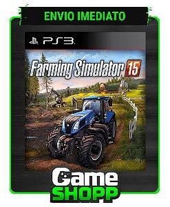 Farming Simulator 2015 - Ps3 - Midia Digital