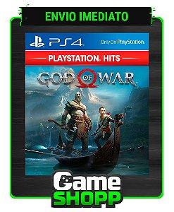 God Of War  - Ps4 - Edição Padrão - Primária