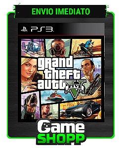 Gta 5 - Grand Theft Auto V - Ps3 - Midia Digital