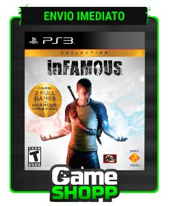 Infamous Collection - Ps3 - Midia Digital