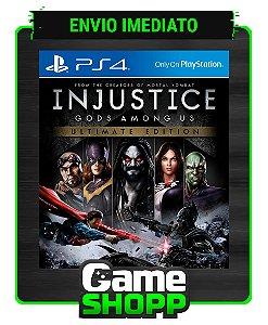 Injustice: Gods Among Us  - Ps4 - Edição Ultimate - Primária