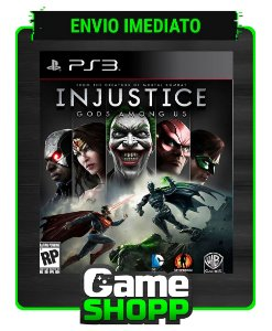 Injustice Gods Among Us - Ultimate Edition - Ps3 - Midia Digital