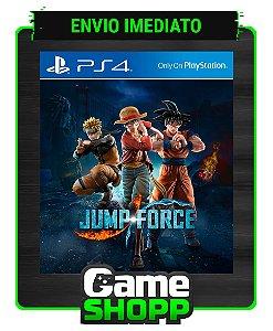 Jump Force  - Ps4 - Edição Padrão - Primária