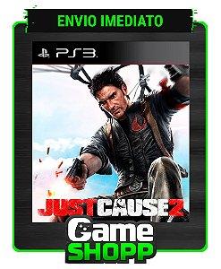 Just Cause 2 - Ps3 - Midia Digital