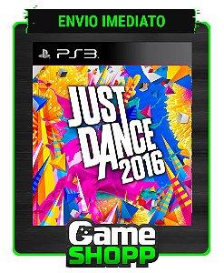 Just Dance 2016 - Ps3 - Midia Digital