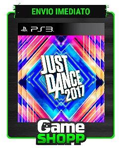 Just Dance 2017 - Ps3 - Midia Digital