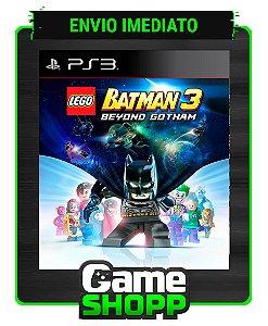 Lego Batman 3: Além De Gotham - Ps3 - Midia Digital