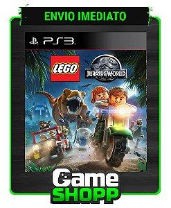 Lego Jurassic World - Ps3 - Midia Digital