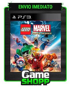 Lego Marvel Super Heroes - Ps3 - Midia Digital