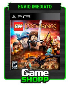 Lego The Lord Of The Rings - Ps3 - Midia Digital