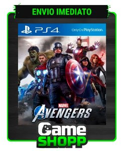 Marvel's Avengers  - Ps4 - Edição Padrão - Primária