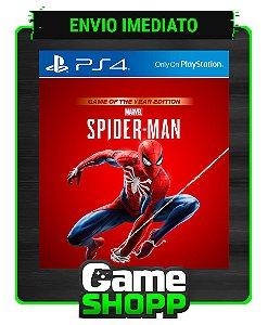 Marvel's Spider-Man  - Ps4 - Edição Jogo Do Ano - Primária
