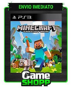 Minecraft: Playstation®3 Edition - Ps3 - Midia Digital