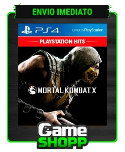 Mortal Kombat X  - Ps4 - Edição Padrão - Primária