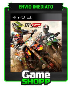 Mxgp The Official Motocross Videogame - Ps3 - Midia Digital
