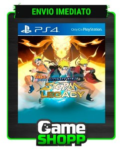 Naruto Shippuden: Ultimate Ninja Storm  - Ps4 - Edição Lendária - Primária