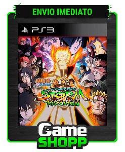 Naruto Shippuden Ultimate Ninja Storm Revolution - Ps3 - Midia Digital
