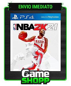 NBA 2K21  - Ps4 - Edição Padrão - Primária