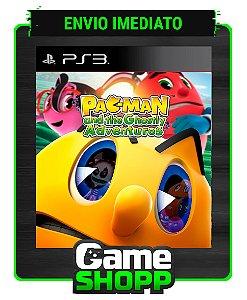 Pac Man E As Aventuras Fantasmagoricas - Ps3 - Midia Digital