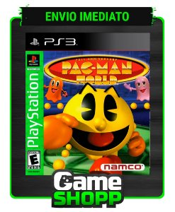 Pac Man World 20th Anniversary (psone Classic) - Ps3 - Midia Digital
