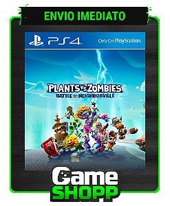 Plants vs Zombies: Batalha por Neighborville  - Ps4 - Edição Padrão - Primária