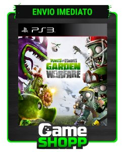 Plants Vs Zombies Garden Warfare - Ps3 - Midia Digital