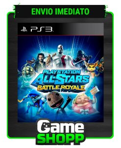 Playstation All Stars Battle Royale - Ps3 - Midia Digital