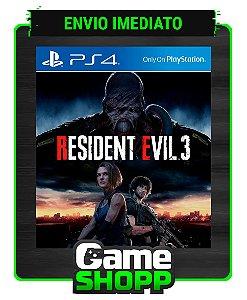 Resident Evil 3  - Ps4 - Edição Padrão - Primária