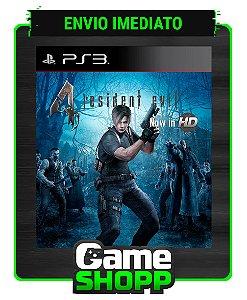 Resident Evil 4 - Ps3 - Midia Digital