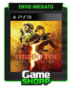 Resident Evil 5 Gold Edition - Ps3 - Midia Digital