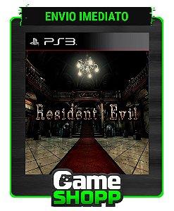 Resident Evil Remastered Hd - Ps3 - Midia Digital