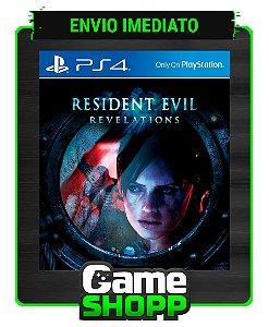 Resident Evil Revelations  - Ps4 - Edição Padrão - Primária