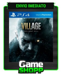 Resident Evil Village  - Ps4 - Edição Padrão - Primária