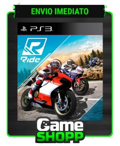 Ride - Ps3 - Midia Digital