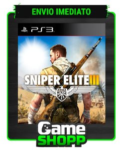 Sniper Elite 3 - Ps3 - Midia Digital