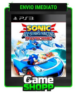 Sonic & All-stars Racing Transformed - Ps3 - Midia Digital