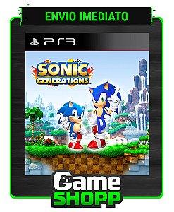 Sonic Generations - Ps3 - Midia Digital
