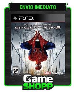 The Amazing Spider man 2 - Ps3 - Midia Digital