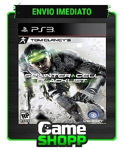 Tom Clancys Splinter Cell Blacklist - Ps3 - Midia Digital