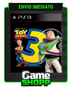 Toy Story 3 The Video Game  - Ps3 - Midia Digital
