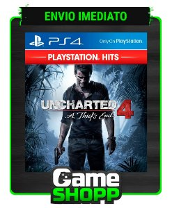 Uncharted 4: A Thief's End  - Ps4 - Edição Padrão  - Primária