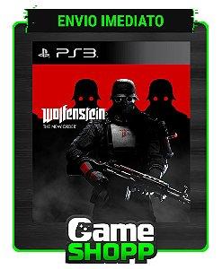 Wolfenstein The New Order - Ps3 - Midia Digital