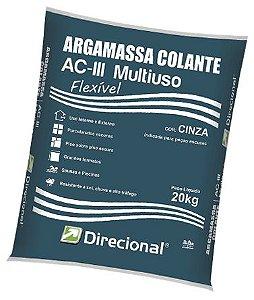 ARGAMASSA AClll PISO SOBRE PISO 20KG