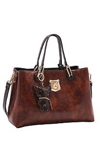 Bolsa Feminina Chenson Urso de Mão 3483264