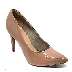Sapato Hellen Suzan Bico Fino Salto 9 Verniz Pelê